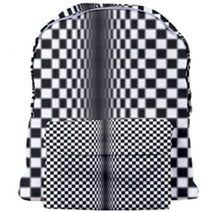 Art Optical Black White Contrast Giant Full Print Backpack