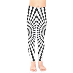 Starburst Sunburst Hypnotic Kids  Legging by Pakrebo