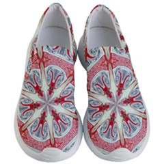 Kaleidoscope Background Bottles Women s Lightweight Slip Ons