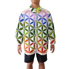 Mandala Rainbow Colorful Reiki Windbreaker (kids)