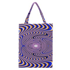 Illusion Head Idea Irritation Classic Tote Bag by Pakrebo