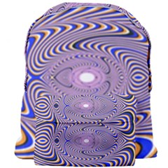 Illusion Head Idea Irritation Giant Full Print Backpack