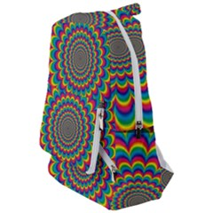 Psychedelic Colours Vibrant Rainbow Travelers  Backpack