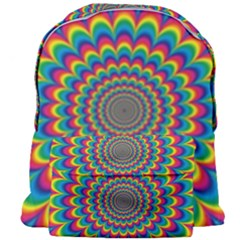 Psychedelic Colours Vibrant Rainbow Giant Full Print Backpack