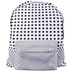 Illusion Form Shape Curve Design Giant Full Print Backpack