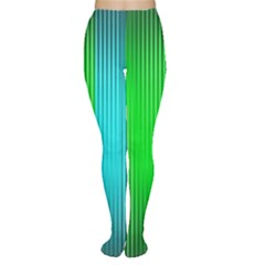 Lines Rainbow Colors Spectrum Color Tights by Pakrebo