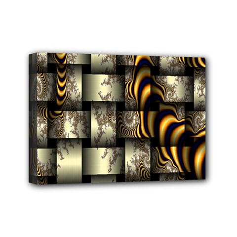 Graphics Abstraction The Illusion Mini Canvas 7  X 5  (stretched)