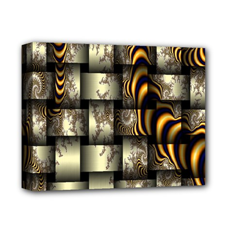 Graphics Abstraction The Illusion Deluxe Canvas 14  X 11  (stretched)