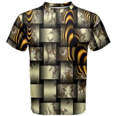 Graphics Abstraction The Illusion Men s Cotton Tee