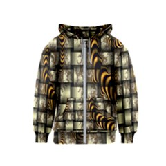 Graphics Abstraction The Illusion Kids  Zipper Hoodie