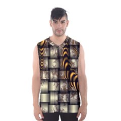 Graphics Abstraction The Illusion Men s Basketball Tank Top