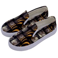Graphics Abstraction The Illusion Kids  Canvas Slip Ons by Pakrebo
