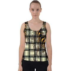 Graphics Abstraction The Illusion Velvet Tank Top