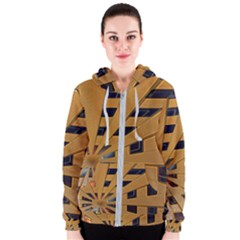 Graphics Assembly Transformation Women s Zipper Hoodie