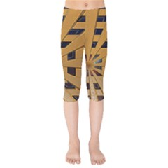 Graphics Assembly Transformation Kids  Capri Leggings  by Pakrebo