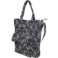 Paisley Pattern Paisley Pattern Shoulder Tote Bag