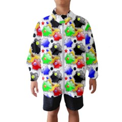 Pattern Background Wallpaper Design Windbreaker (kids)