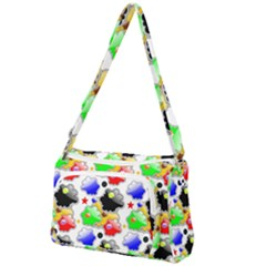 Pattern Background Wallpaper Design Front Pocket Crossbody Bag
