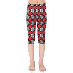 Darts Dart Board Board Target Game Kids  Capri Leggings