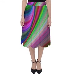 Illusion Background Blend Classic Midi Skirt