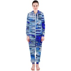 Graphics Wallpaper Desktop Assembly Hooded Jumpsuit (ladies)