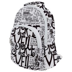 Pierce The Veil Music Band Group Fabric Art Cloth Poster Rounded Multi Pocket Backpack