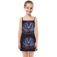 Cheshire Cat Animation Kids  Summer Sun Dress
