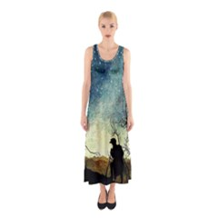 Dwell A Hermit Anywhere Sleeveless Maxi Dress