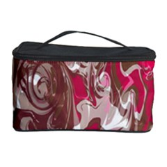 Fancy Magenta Marble Cosmetic Storage