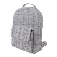 Abstract Lines Flap Pocket Backpack (large) by tarastyle