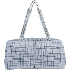 Abstract Lines Multi Function Bag by tarastyle