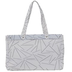 Abstract Lines Canvas Work Bag by tarastyle