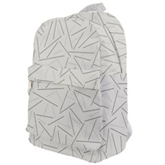 Abstract Lines Classic Backpack by tarastyle