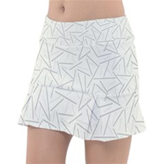 Abstract Lines Tennis Skirt by tarastyle
