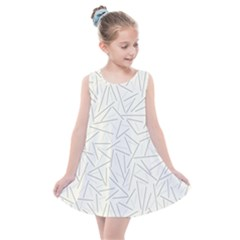 Abstract Lines Kids  Summer Dress by tarastyle