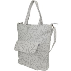 Abstract Lines Shoulder Tote Bag