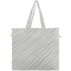 Abstract Lines Canvas Travel Bag
