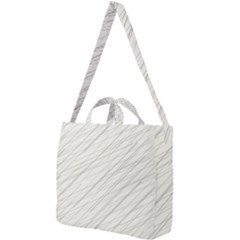 Abstract Lines Square Shoulder Tote Bag by tarastyle