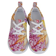 Watercolor Autumn Garden Running Shoes by tarastyle