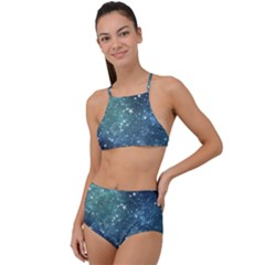 Above All Things High Waist Tankini Set by WensdaiAddamns