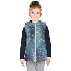Above All Things Kids  Hooded Puffer Vest by WensdaiAddamns