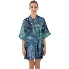 Above All Things Quarter Sleeve Kimono Robe by WensdaiAddamns
