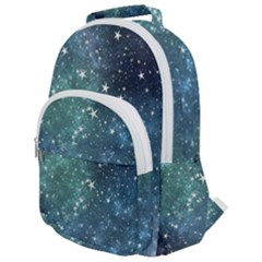 Above All Things Rounded Multi Pocket Backpack by WensdaiAddamns