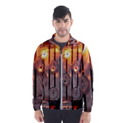 Music Notes Sound Musical Audio Men s Windbreaker