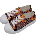 Music Notes Sound Musical Audio Kids  Low Top Canvas Sneakers View2