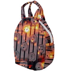 Music Notes Sound Musical Audio Travel Backpacks