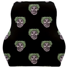 Creepy Zombies Motif Pattern Illustration Car Seat Velour Cushion