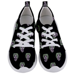 Creepy Zombies Motif Pattern Illustration Women s Lightweight Sports Shoes