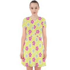 Traditional Patterns Plum Adorable In Chiffon Dress by Mariart