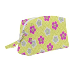 Traditional Patterns Plum Wristlet Pouch Bag (medium) by Mariart